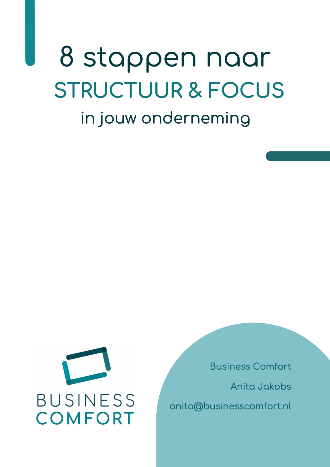 8 stappen naar structuur en focus